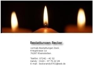 Bestattungen Becker